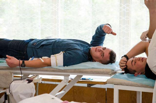 В 2017 году доноры Днепропетровщины сдали более 21 тысячи литров крови