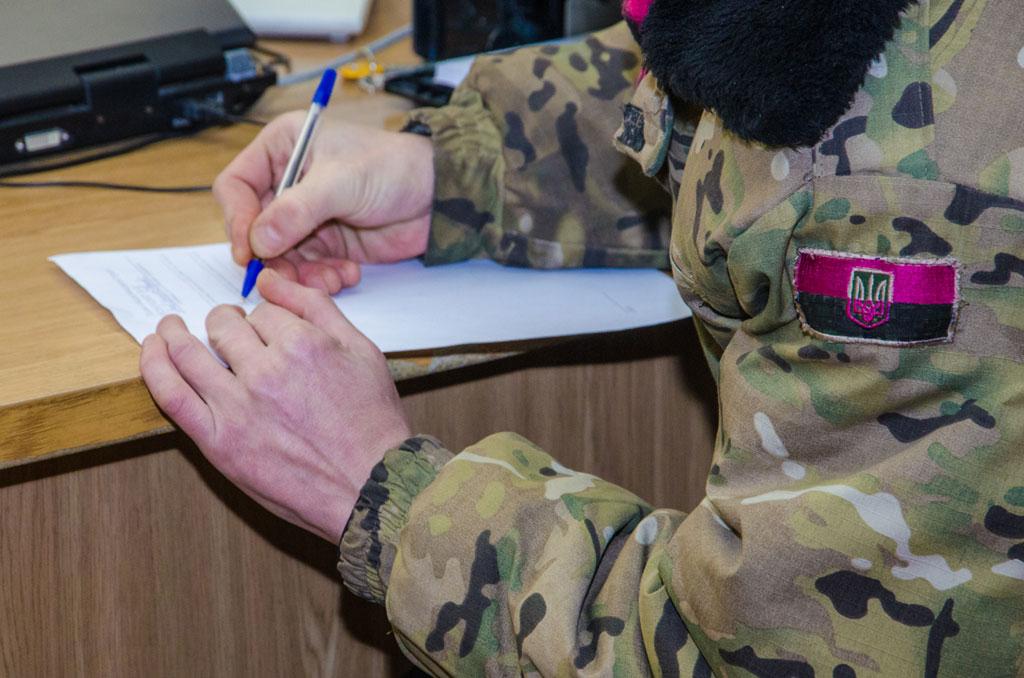 В единый реестр внесли данные о более чем 15 тыс АТОшников Днепропетровщины