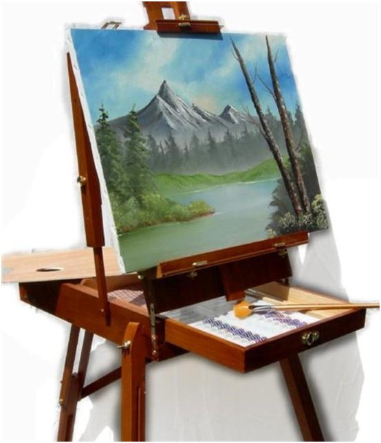 Подставка на которой рисуют художники