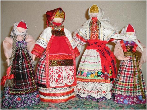 Крестьянские игрушки своими руками
