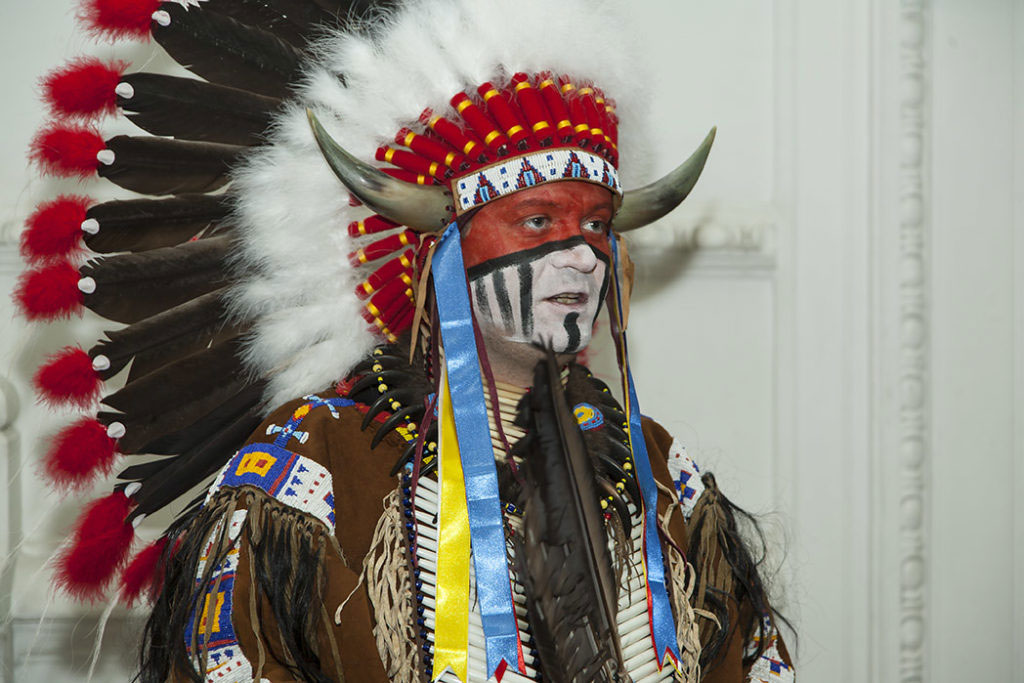 Знакомство с индейцем