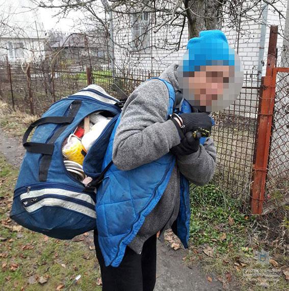 Новомосковские оперативники задержали серийного дачного вора
