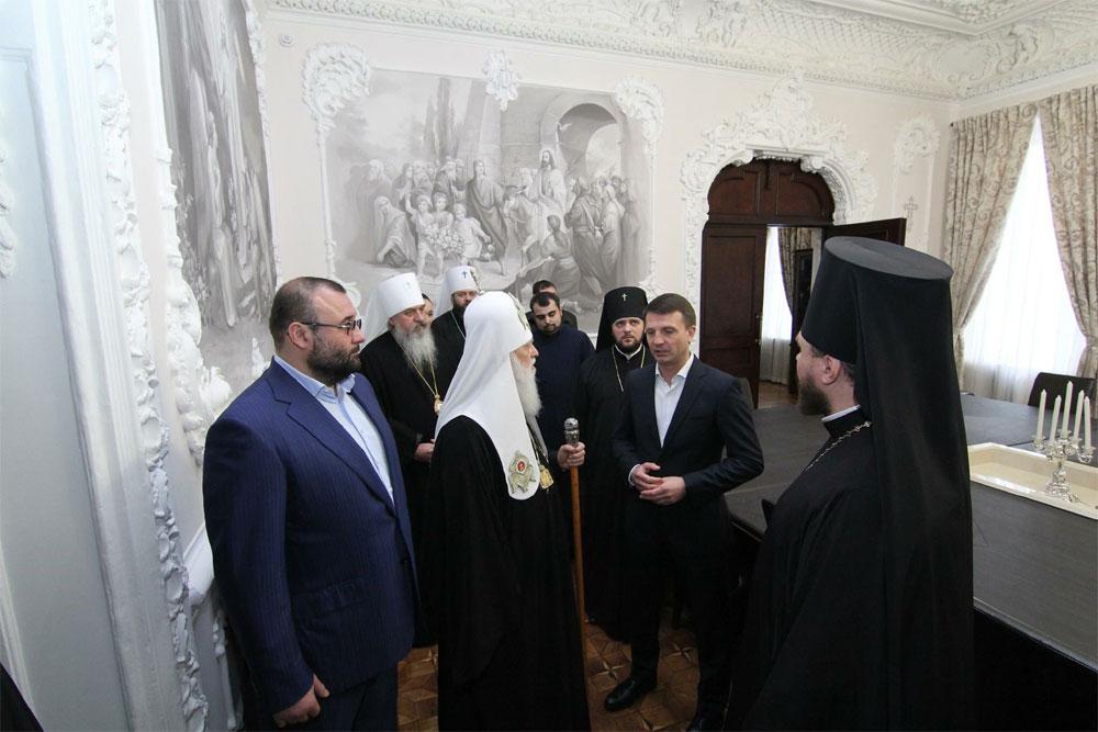 визит Филарета, Святейшего Патриарха Киевского и всея Руси-Украины в Днепр