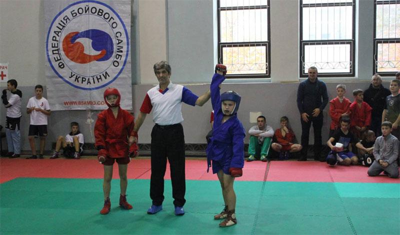 самбисты с Днепропетровщины завоевали «золото»