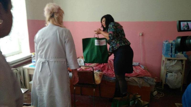 Волонтеры Фонда «Украинская перспектива» оказали помощь горбольнице №12 (Самарский район, г. Днепр)