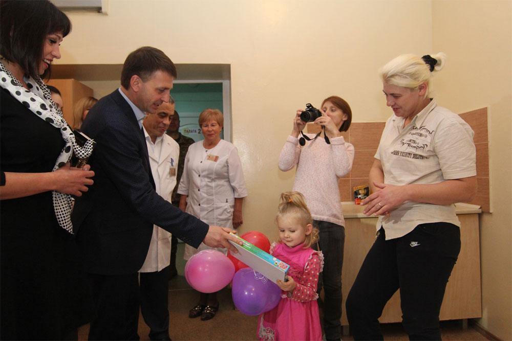 Днепропетровская областная детская клиническая больница вновь приняла на лечение детей с прифронтовых территорий